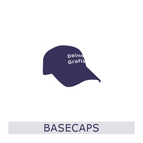 Basecaps, Caps, Mützen, Beschriftung